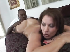 Lovely bitch Vaness Videl gets holes filled w bbc